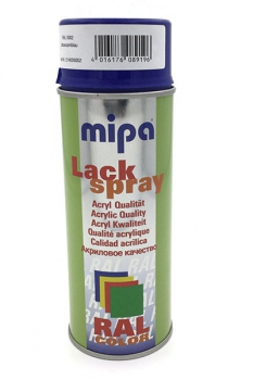 Mipa Lackspray Ultramarineblau RAL 5002