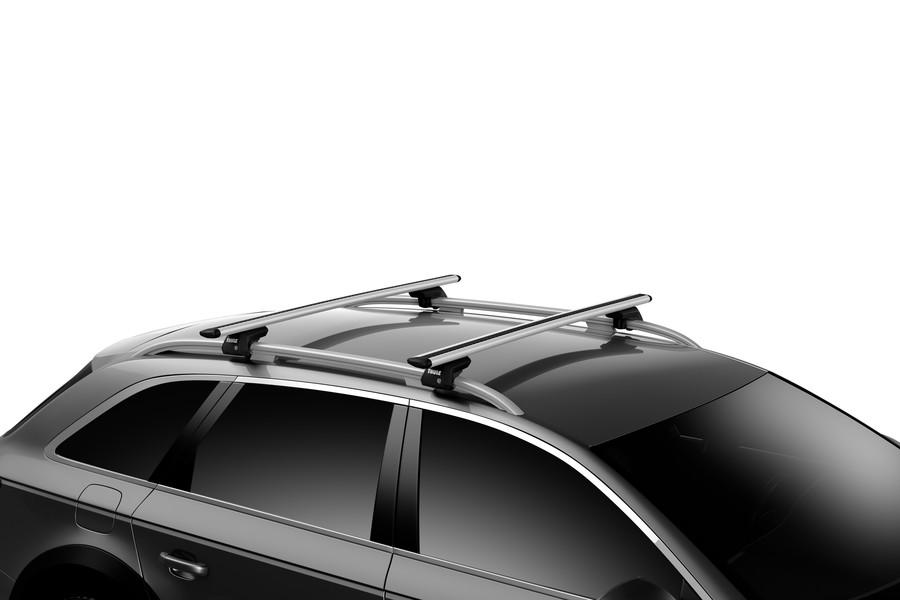 Thule WingBar Evo aerodynamische Laststreben für Dachträgersystem 135 cm Silber
